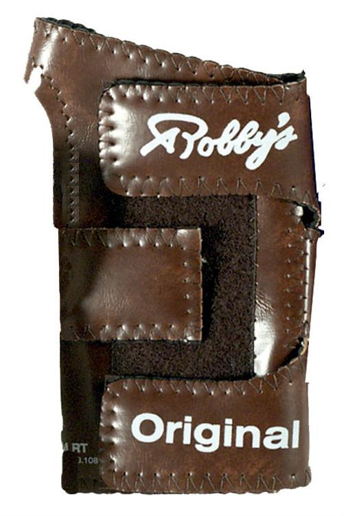 Robby's Original Vinyl Wrist Positioner Left Hand Brown