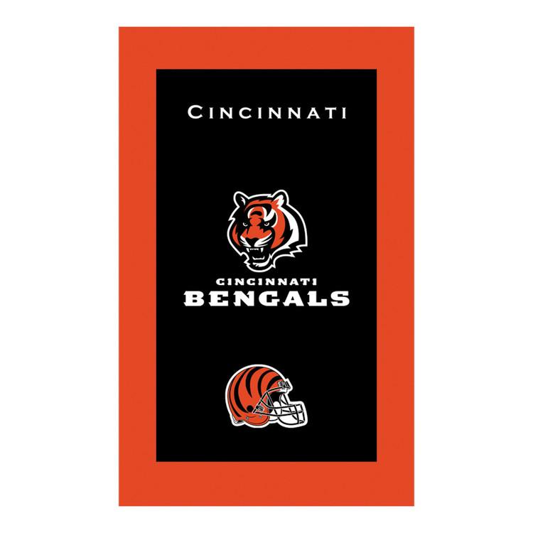 KR NFL Bowling Towel Cincinnati Bengals