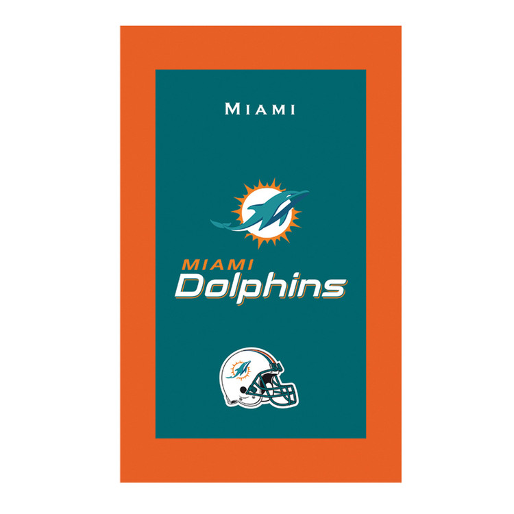 KR NFL Bowling Towel Miami Dolphins