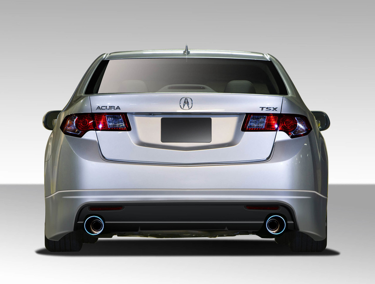 free shipping on duraflex 09 10 acura tsx type m rear lip under rh semotors com 2005 Acura TSX Manual Slammed Slammed Acura TSX 2005 Black