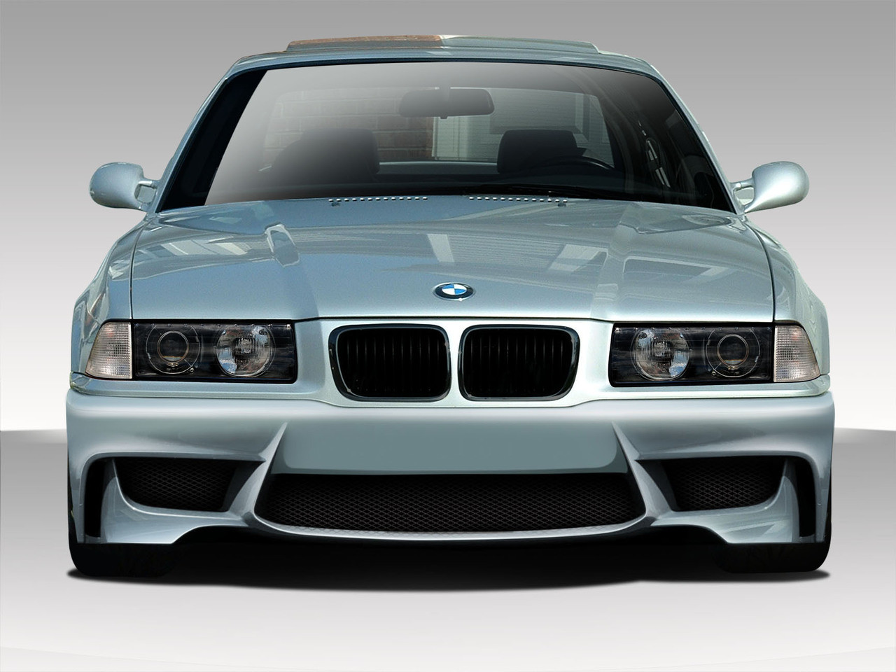 Free Shipping on Duraflex 92-98 BMW 3-Series M3 E36 1M Look Front ...