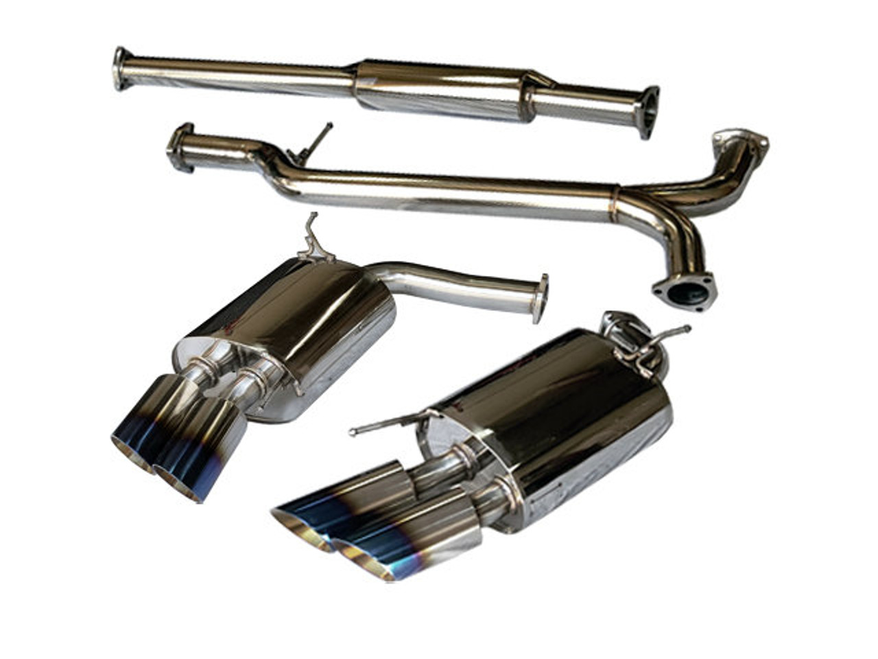 free shipping on tsudo acura 2007 08 tl type s dual se muffler rh semotors com 2006 Acura TL Type S 2012 Acura TL Stanced