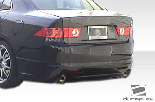Free Shipping On Duraflex Acura TSX K Rear Lip Under Spoiler - Acura tsx lip