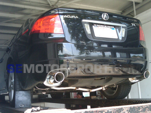 Free Shipping On Tsudo Acura TL Dual SP Muffler Catback Exhaust - Acura tl exhaust system