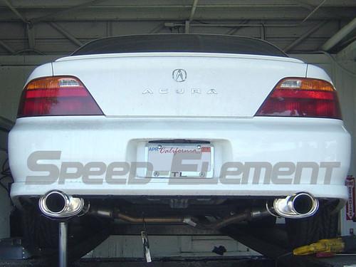 free shipping on tsudo 99 03 acura tl sp dual jdm axleback exhaust rh semotors com 2001 Acura CL 3.2Cl 2003 Acura CL