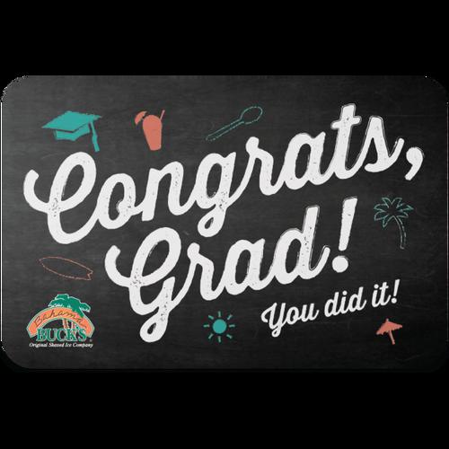 Congrats, Grad! Gift Card