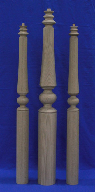 K5 Series Large Wood Newel Post