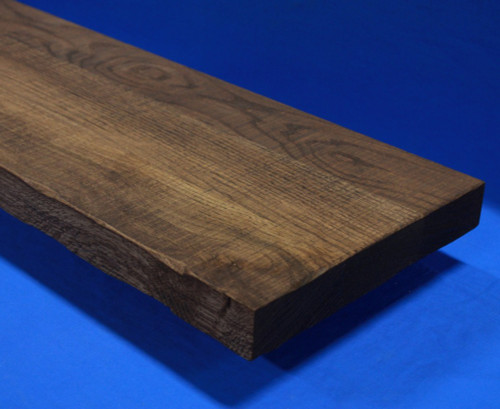 Thick Rough Sawn Stair Treads - Rustic distressed thick stair treads for mountain modern staircases-1-3/4 inch thick-Rustic-Thick-Tread-Distressed-Thick-Tread