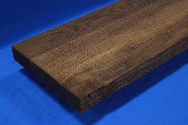 Rough Sawn Thick Wood Stair Treads-Rustic Thick Stair Treads-Distressed Thick Stair Treads