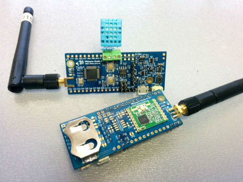 Running a Wireless Temp. and Humidity Sensor for over 1 year on a CR2032
