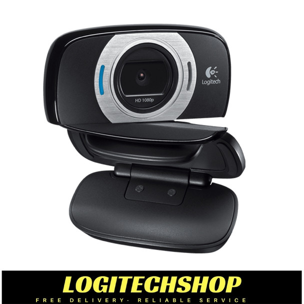 Logitech C615 HD Webcam - Full HD 1080p recording - Video call in HD 720p