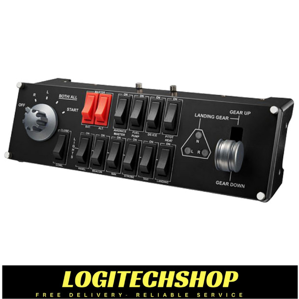 Flight Switch Panel Professional Simulation Switch Controller