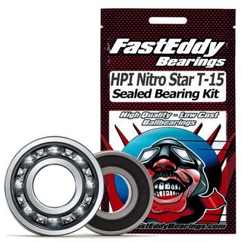 HPI Nitro Star T-15 Pullstart .15 Sealed Bearing Kit