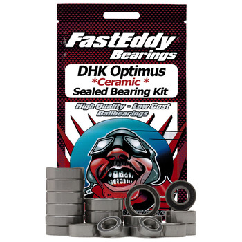 DHK Optimus Ceramic Rubber Sealed Bearing Kit