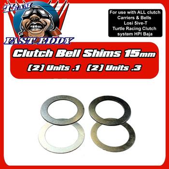 15mm Clutch Bell Shims