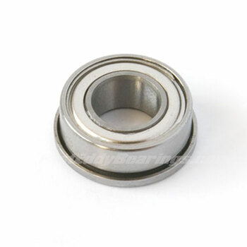 3/16x5/16x1/8 (FLANGED) Metal Shielded Bearing FR156-ZZ