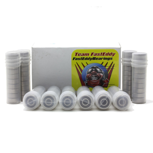 10x19x5 Ceramic Rubber Sealed Bearing 6800-2RS (100 Units)