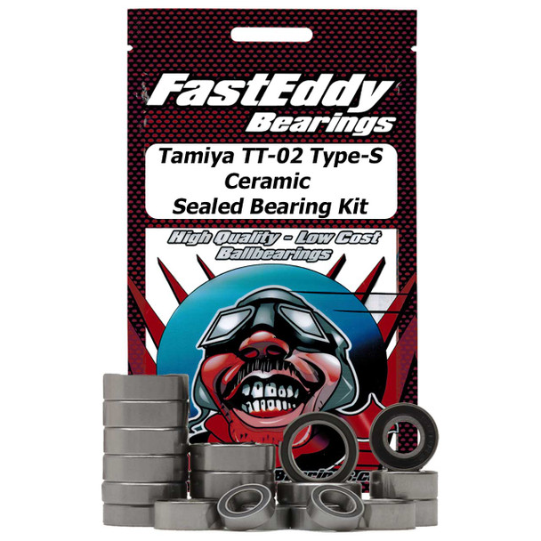 Tamiya TT-02 Type-S Chassis Ceramic Sealed Bearing Kit