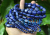 Selected Natural Lapis Lazuli Gemstone Nugget Beads Necklace