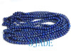 "33"" Genuine Lapis Lazuli Gemstone Prayer Beads Mala -E023002"