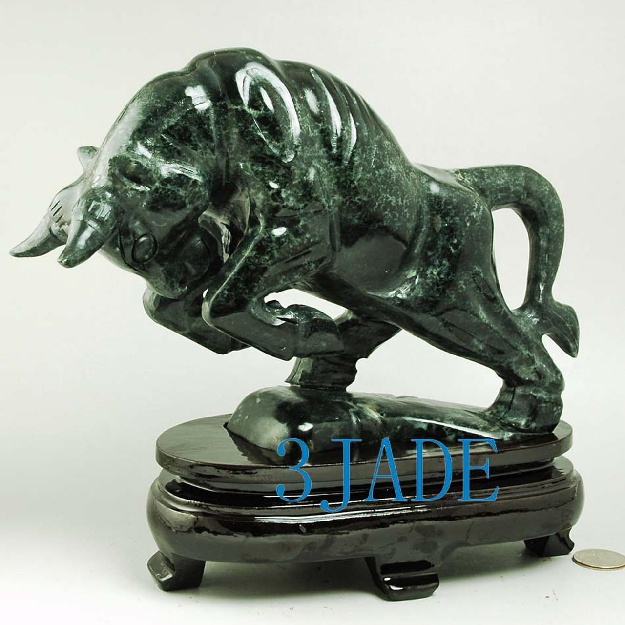 fighting Bull statue