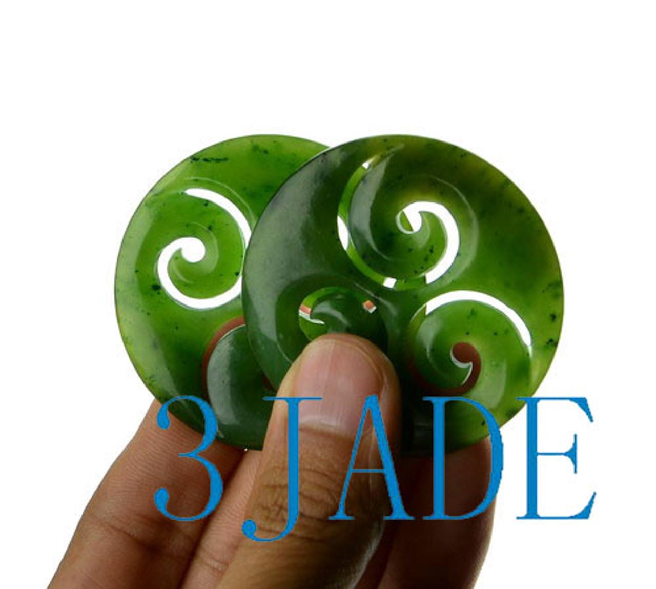 jade triple swirl