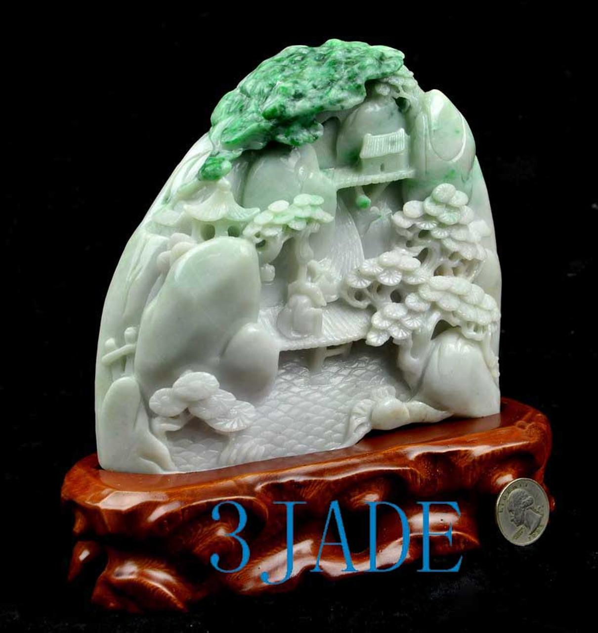 Burmese Jadeite Jade Mountain