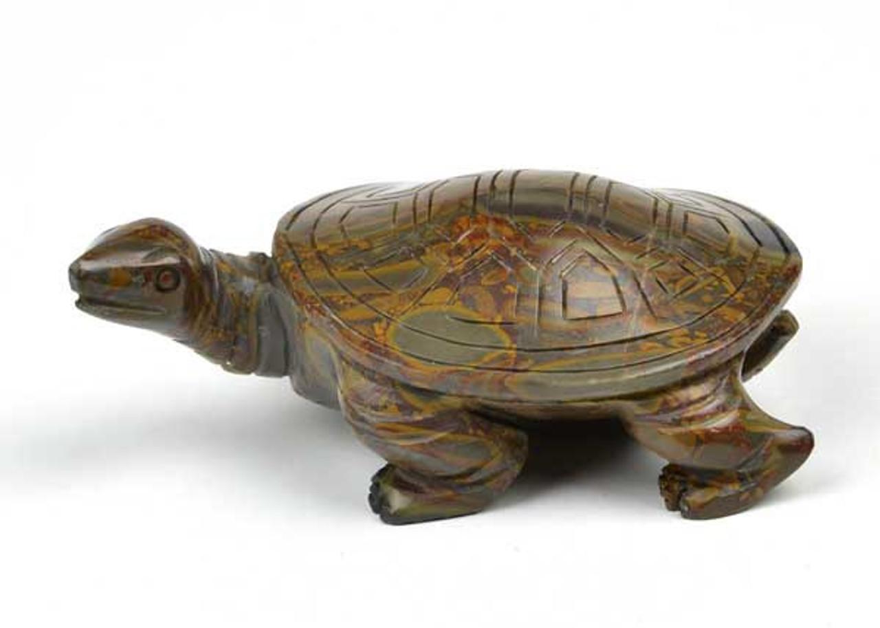 Bamboo Jasper Turtle