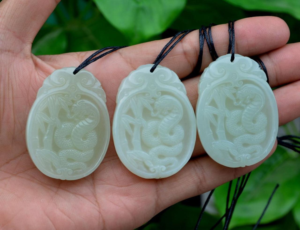 Jade Snake Pendant