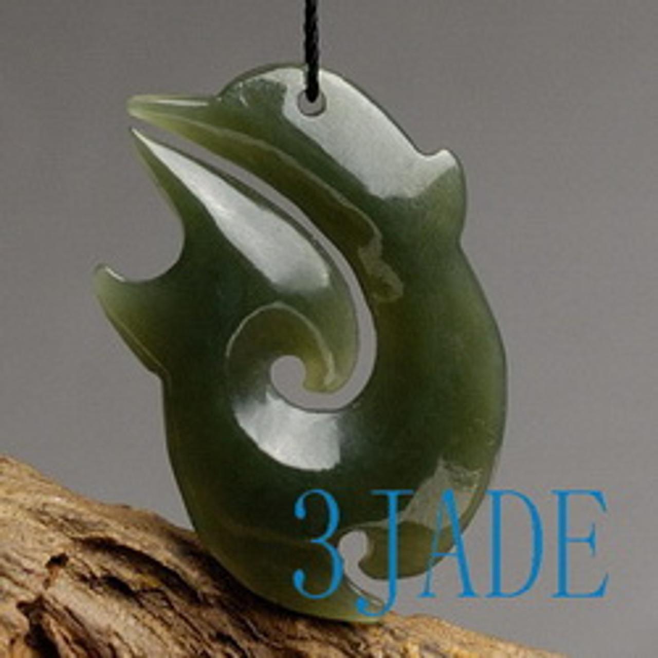 Maori jade carving