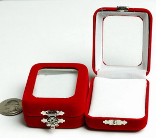 Red Velvet Jewelry / Pendant / Gift Box C020010