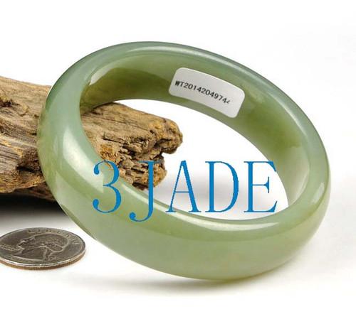 61mm Hetian jade bangle