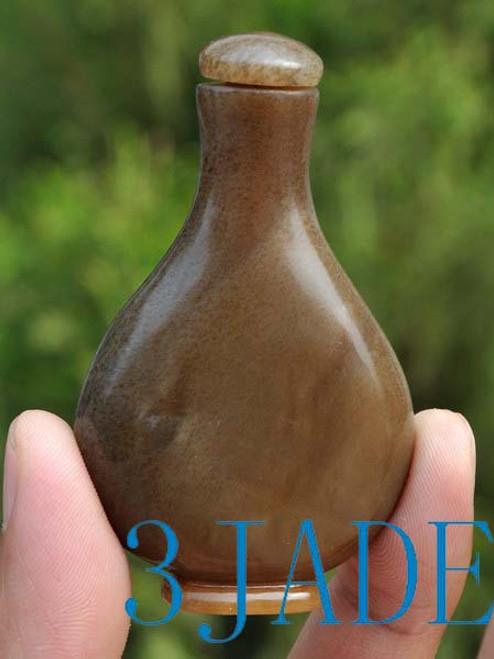 Hetian Jade Snuff Bottle
