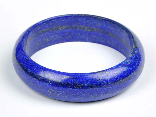 69.5mm Natural Lapis Lazuli Bangle