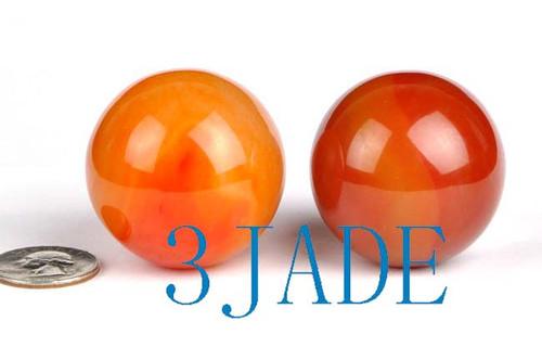 carnelian red agate ball sphere