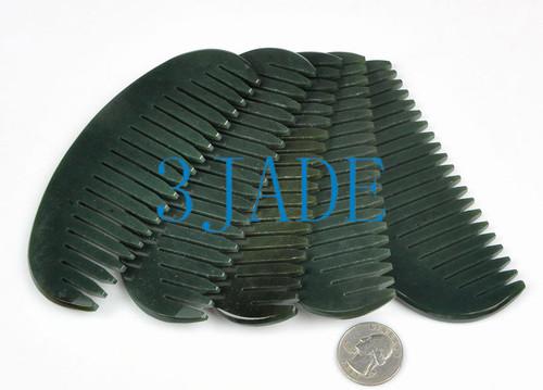 Nephrite Jade Comb
