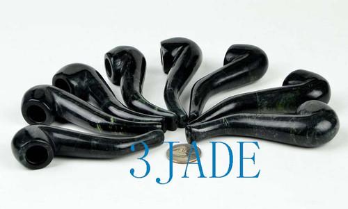 jade tobacco pipe