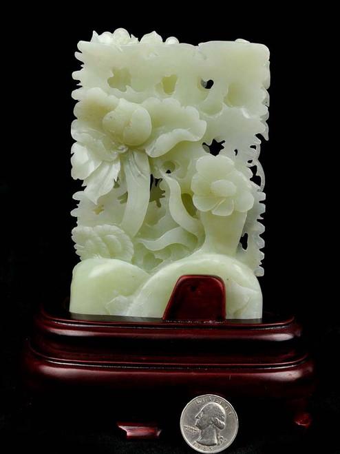 Hetian white jade