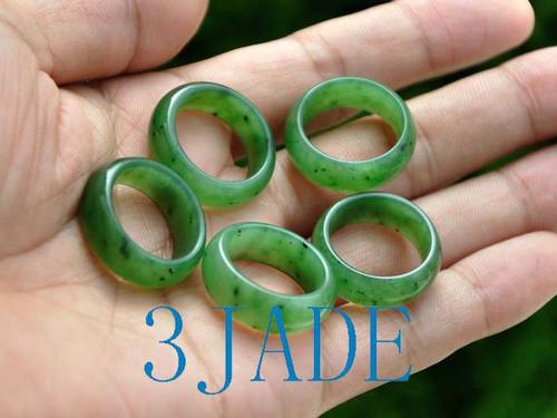 A grade jade ring