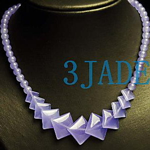 lavender Jade Necklace