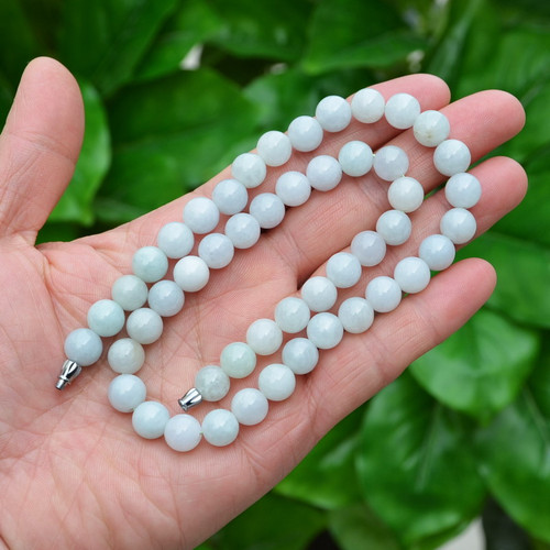 A Grade Jadeite Jade Beads Necklace