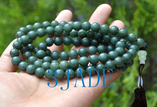 nephrite jade prayer beads