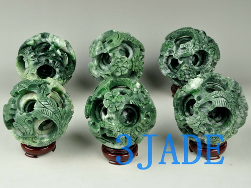 stone puzzle ball