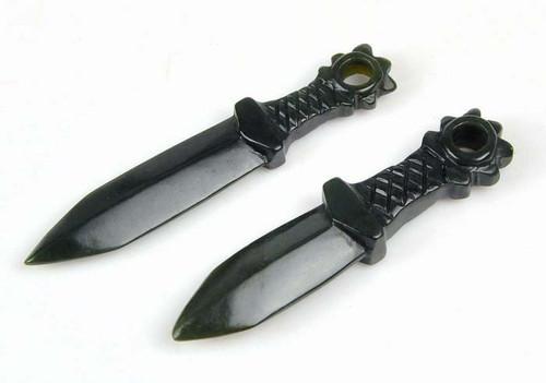 nephrite jade spear