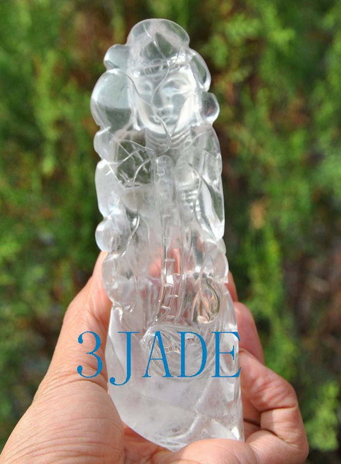 crystal carving