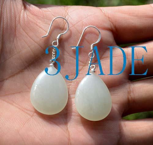 nephrite jade earrings