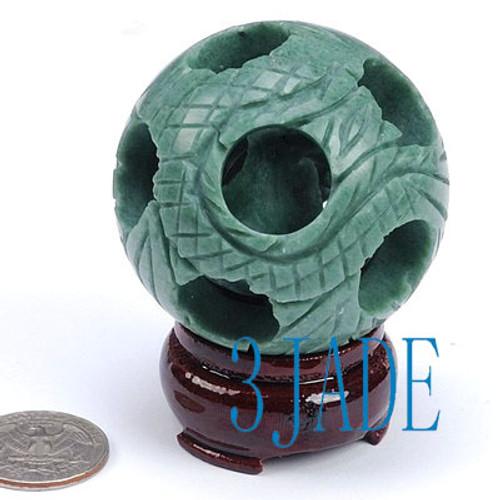 jade puzzle ball