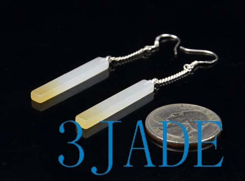 Hetian Jade Earrings