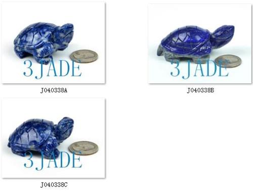 Lapis Lazuli Turtle Figurine