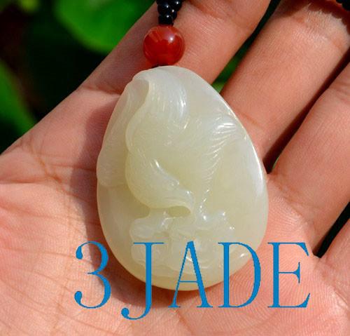 Jade Eagle pendant